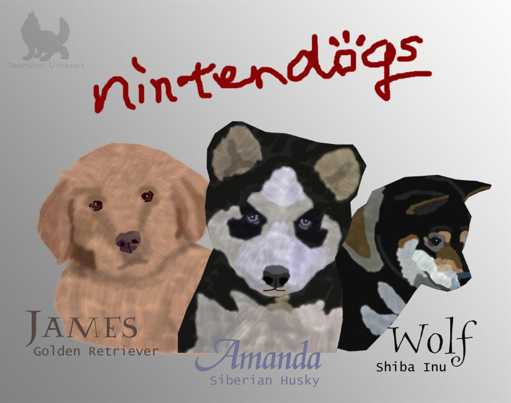 Nintendogs Family By DarkwolfUntamed On DeviantArt