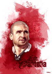 Eric Cantona by FrnzHauser