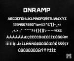 ONRAMP : Type Specimen