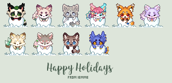 Holiday Icons: Gifts! [final addition Feb 20th] by iEmme