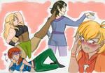 Baldur's Gate Draw the Squad 2 by MishiDraws