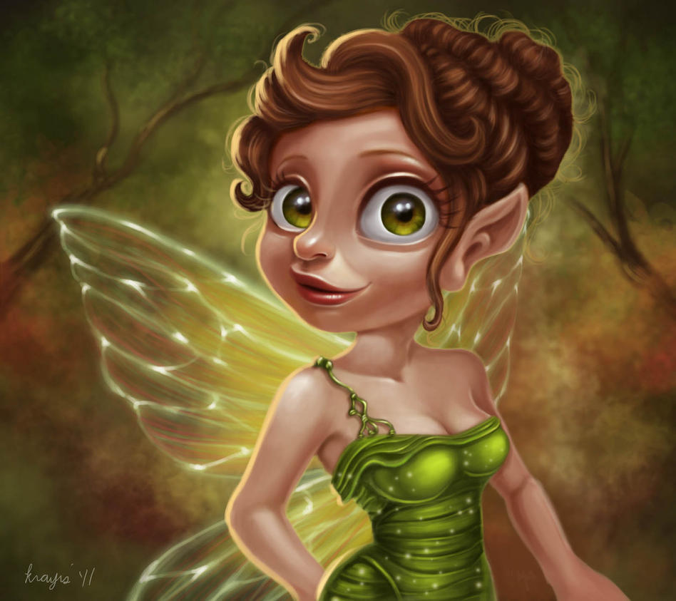 Pixie Grinn by krayisako