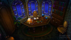 Steampunk room by krayisako