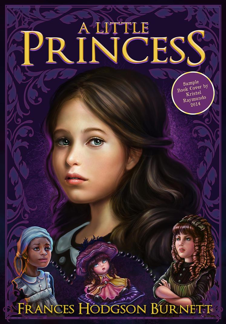 Illustration Book Cover Sample : Princess sarah sample book cover illustration by krayisako