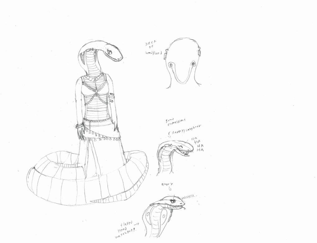 Iseret model sheet by Axol-The-Axolotl