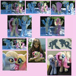 ::~Fluttershy and Derpy-Plushies~::