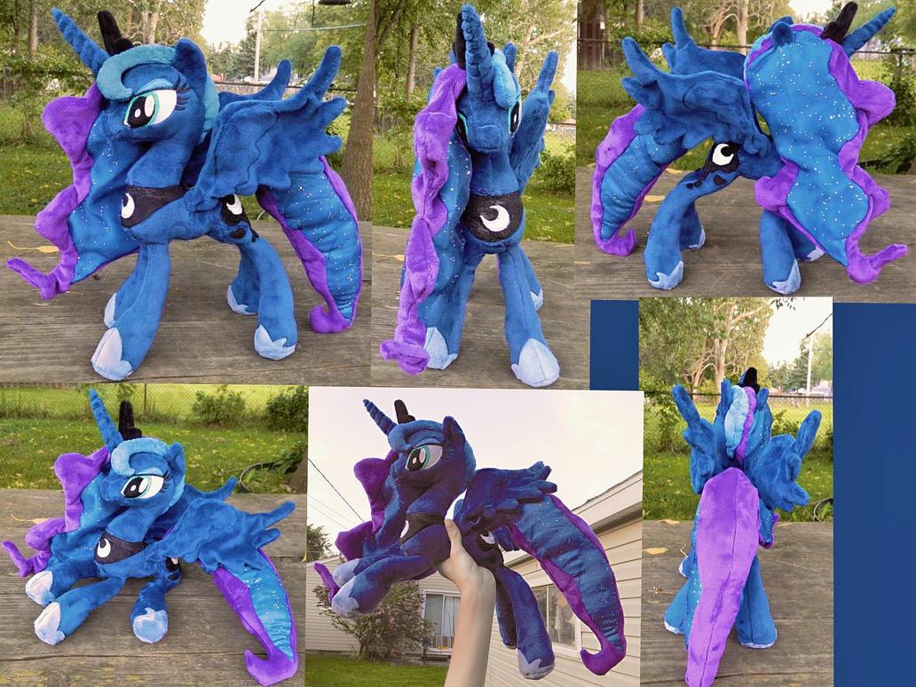::-Princess Luna - Commission-:: by Soft-Sensations