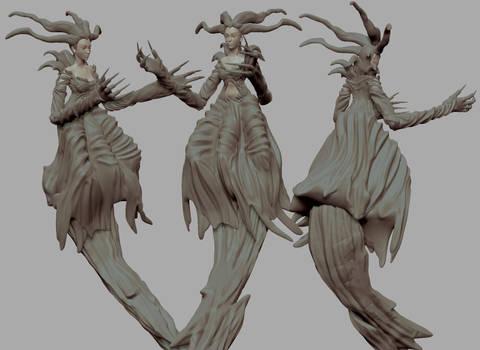 Eve- Parasite eve Fanart (3D printing)
