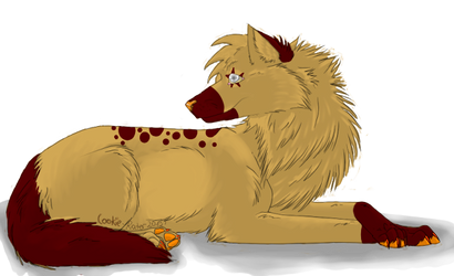 Random wolf by Cookie-Rater