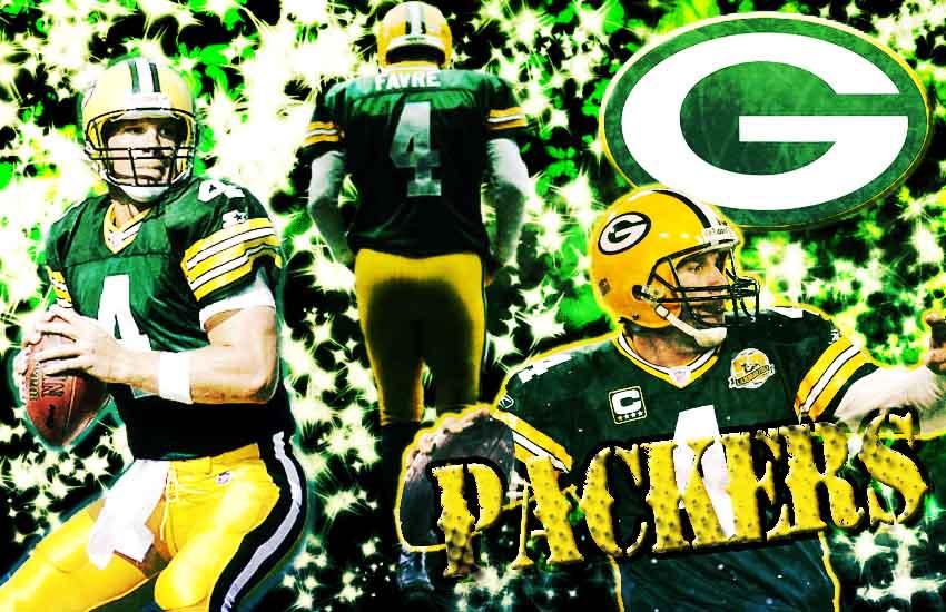Greenbay Packers Brett Favre by Banjovan01