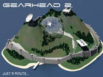 Fortress scene GearHead RPG by posfan12