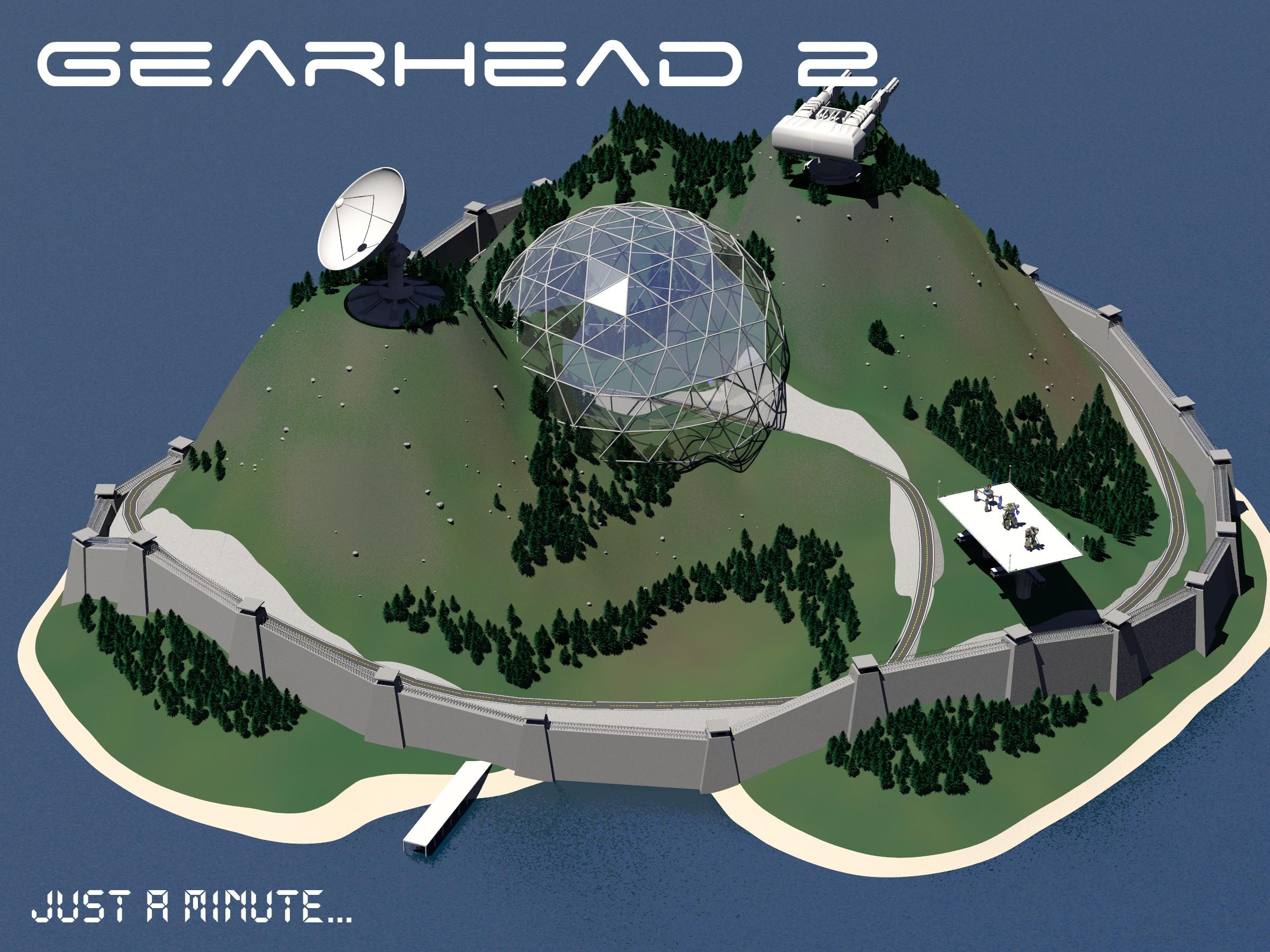 Fortress scene for GearHead RPG