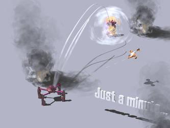 Minimal scene for GearHead RPG by posfan12