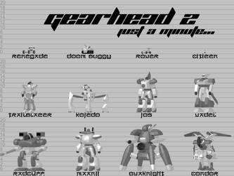 Size comparison scene for GearHead RPG