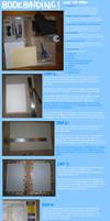 BOOKBINDING TUTORIAL part I by lenoki