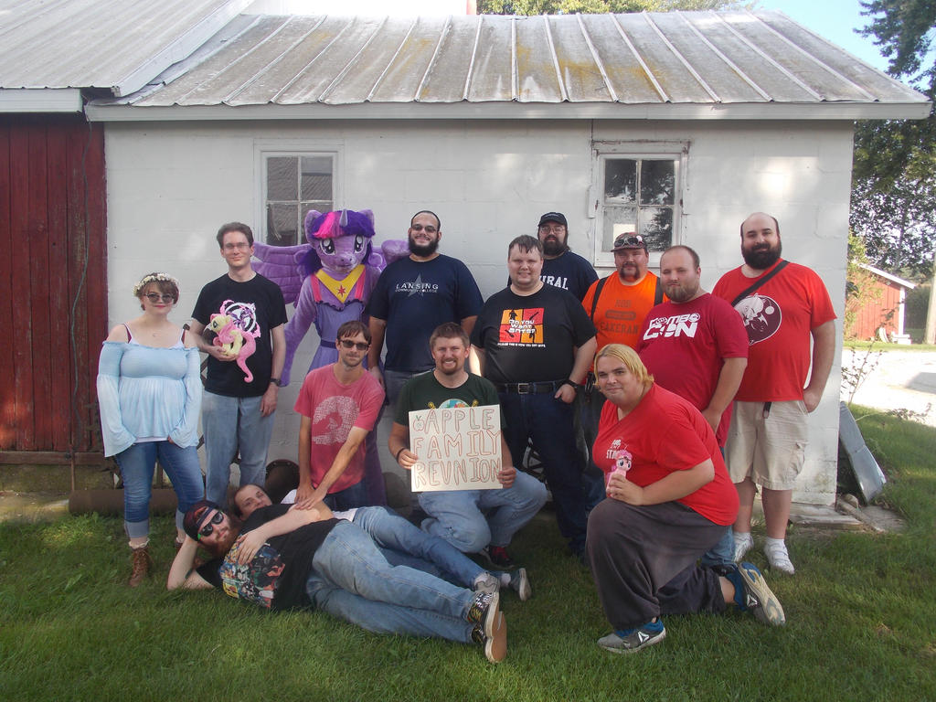 Michigan Bronies and Pegasisters - 2018 AFR Meetup by MissConnieRoyal