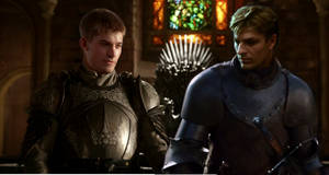 Game of Thrones: young Ned and Jaime by woodworker32