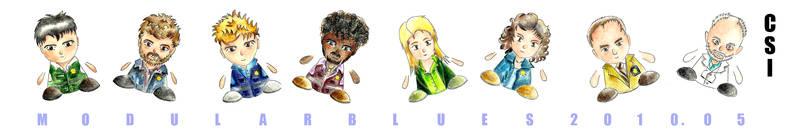 CSI chibi dolls