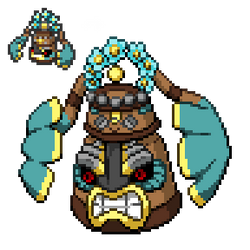 Alolan Bronzong by TrainerCord