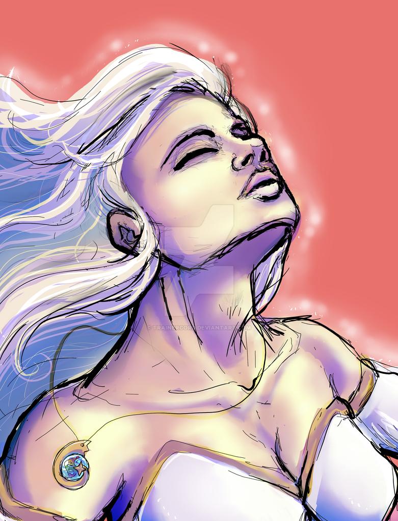 Lumina in a breeze by TrainerCord