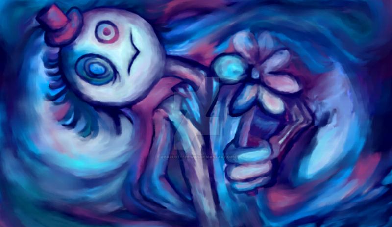 Flower man (digitally remastered) by CharlotteHewins