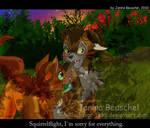 Sunset -Brambleclaw and Squirrelflight