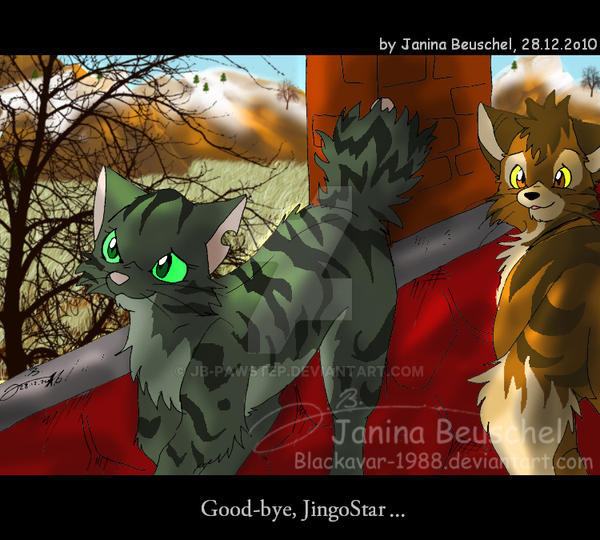 Warriors Forest Of Secrets Lexile: Sunrise -Good-bye, Jingostar By JB-Pawstep On DeviantArt