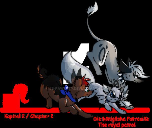 Katinka Cover Chapter 2 - The royal Patrol by JB-Pawstep