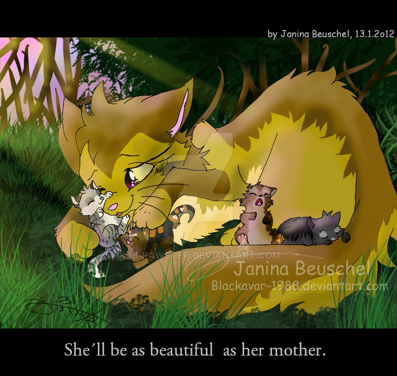 Forest Of Secrets -As Her Mother By JB-Pawstep On DeviantArt