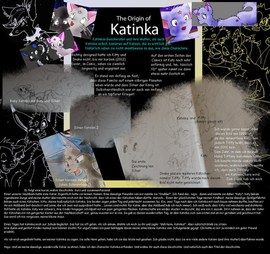 The Origin of Katinka -Katinkas Family by JB-Pawstep