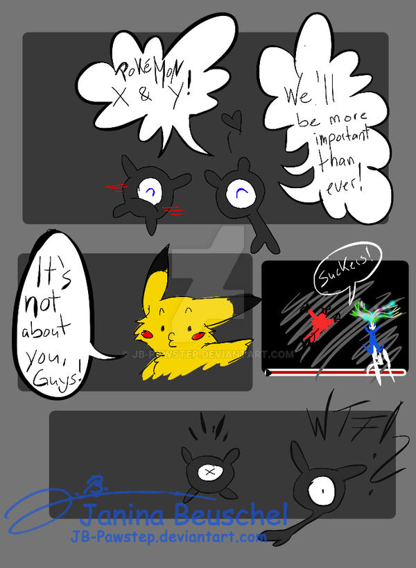 Pokemon X and Y by JB-Pawstep