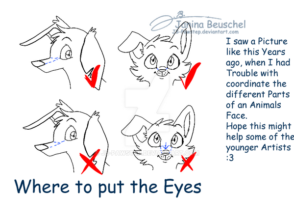 Where to put the Eyes by JB-Pawstep