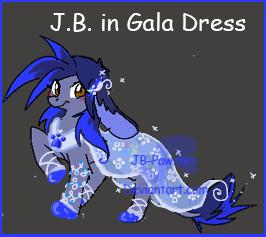 J.B. Gala Dress by JB-Pawstep