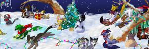 Advents Calendar 2014 - Merry X-mas!! by JB-Pawstep