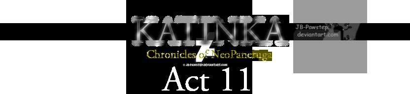 Katinka - Banner - Act 11 by JB-Pawstep