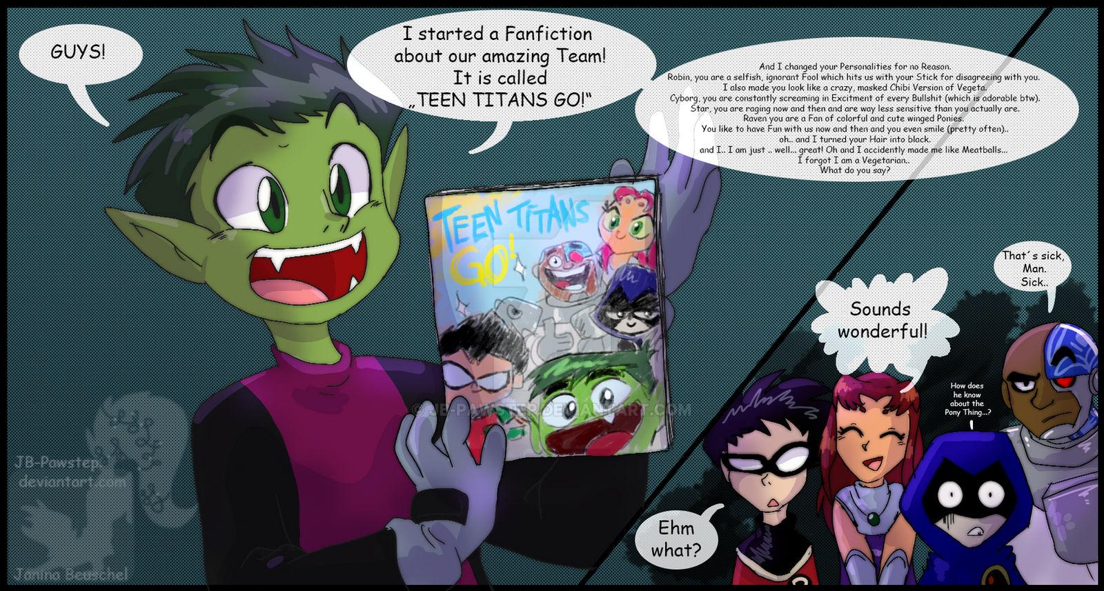 Teen Titans Go! by RobertMacQuarrie1 on DeviantArt