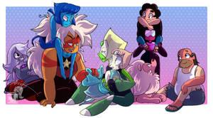 Family - Steven Universe - incl. Speedpaint