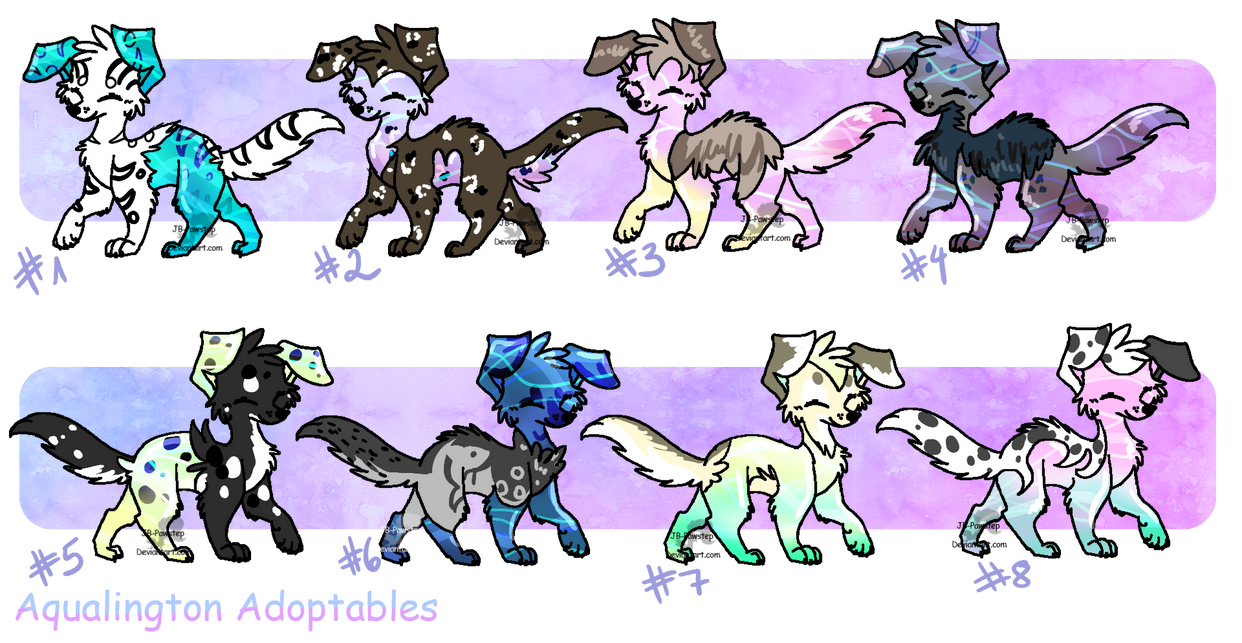 Aqualington Adoptables - closed by JB-Pawstep
