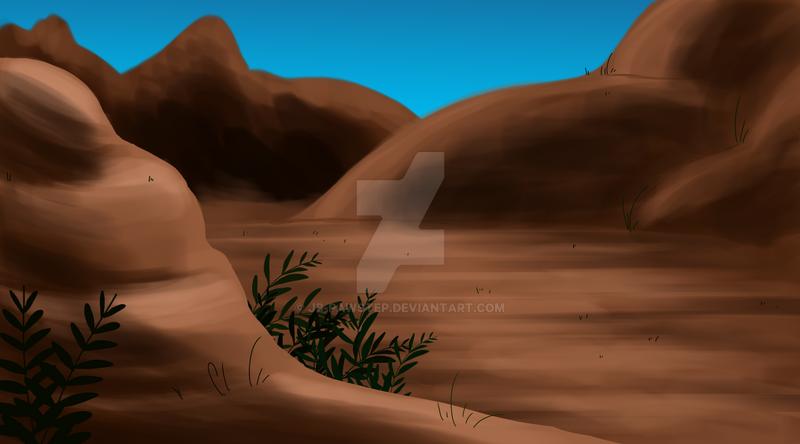 Mountain Background something by JB-Pawstep on DeviantArt