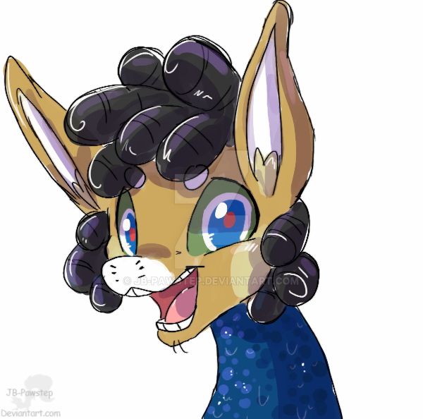 Syd - Headshot-Sketch - colored by JB-Pawstep