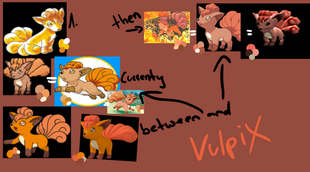 Vulpix colors by JB-Pawstep