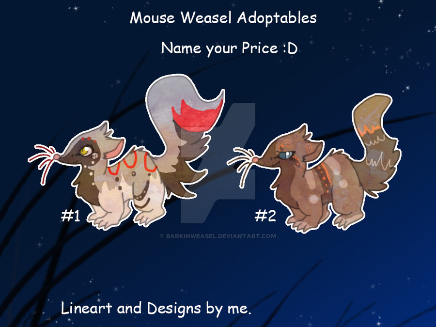 Resubmit - Mouse Weasels - Closed by JB-Pawstep