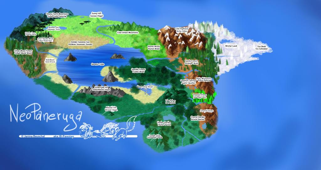NeoPaneruga Map 2 by JB-Pawstep