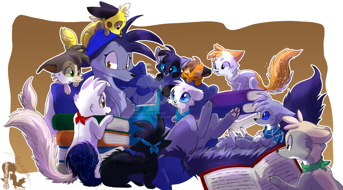 Bedtime Stories - 2 by JB-Pawstep