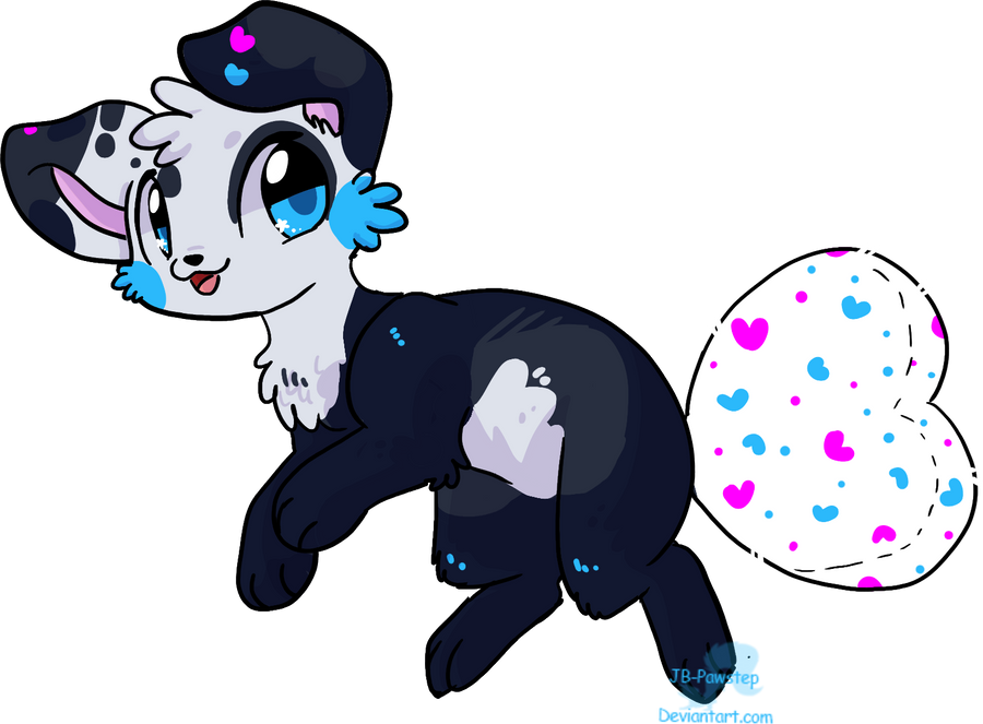 Plush-Tail Dog - Adoptable # 25 - Closed by JB-Pawstep