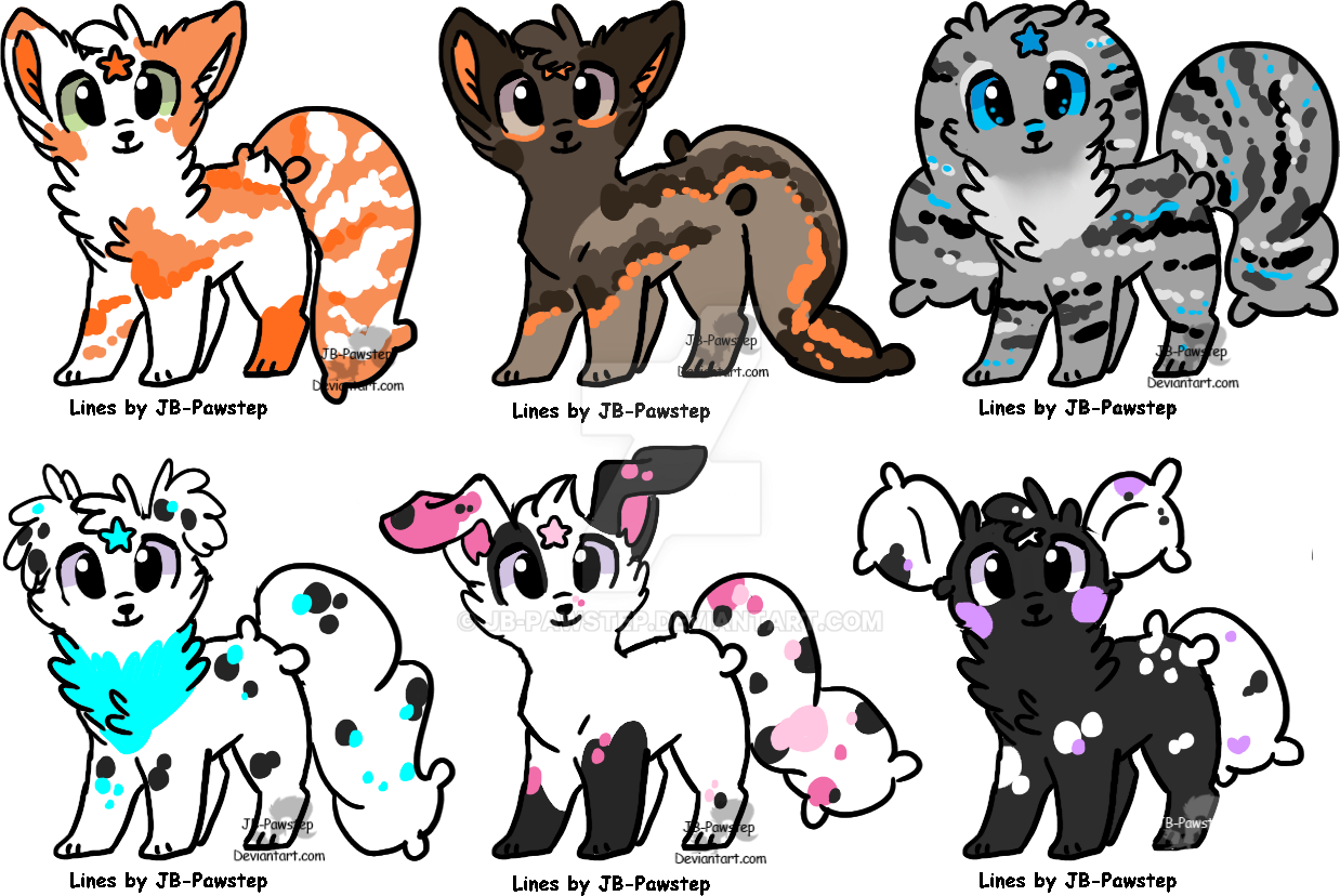 Kuschpl Adoptables - Batch 2 - Open by JB-Pawstep