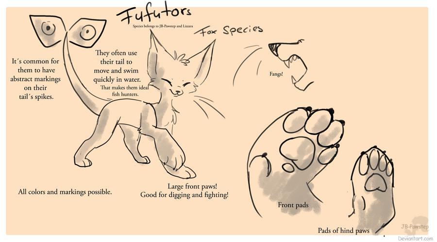 Fufutors - Closed Species by JB-Pawstep