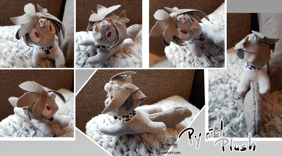 Pyrit Sock Plush by JB-Pawstep