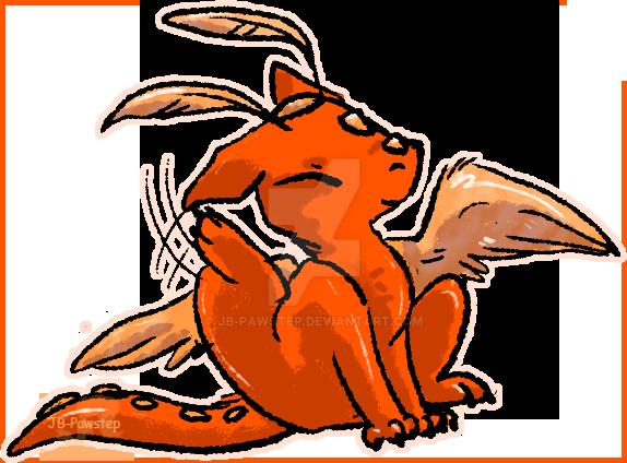 YCH - Orange Sorbet by JB-Pawstep
