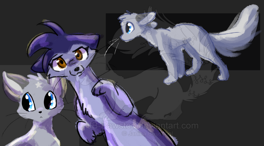 Doodles - Brush Setting Test by JB-Pawstep